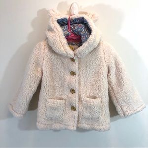 Baby Boden Teddy Bear Hooded Jacket